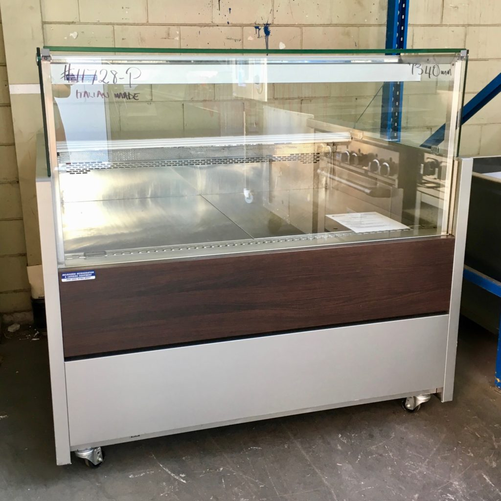 Criocabin 1340mm Square Glass Display Fridge Mrce